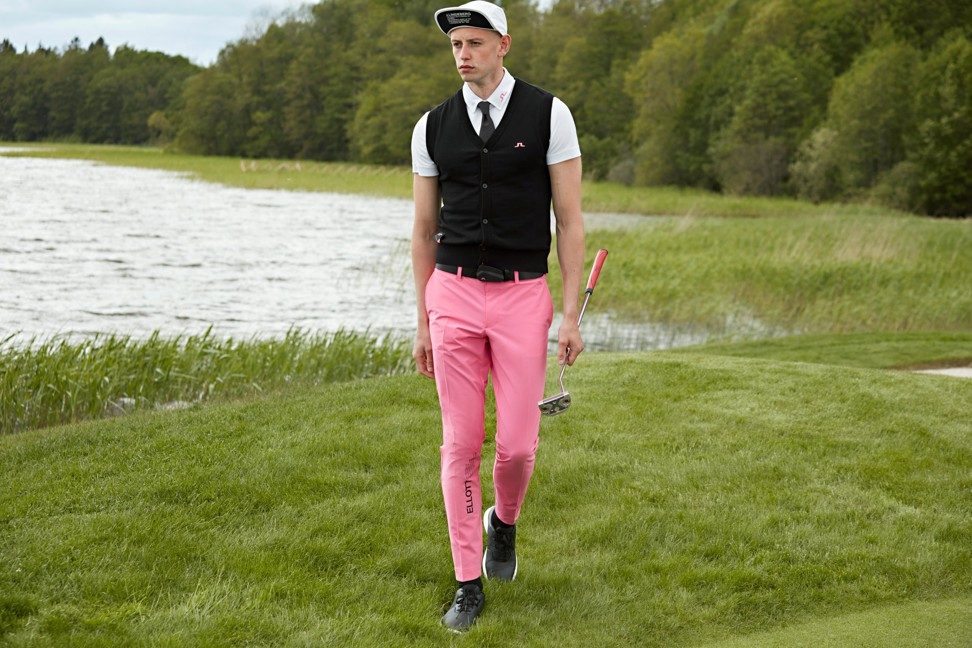 STYLE Edit: How golf stars Matt Wallace and Viktor Hovland fell for J.Lindeberg's new bubblegum pink and purple animal print sports collection