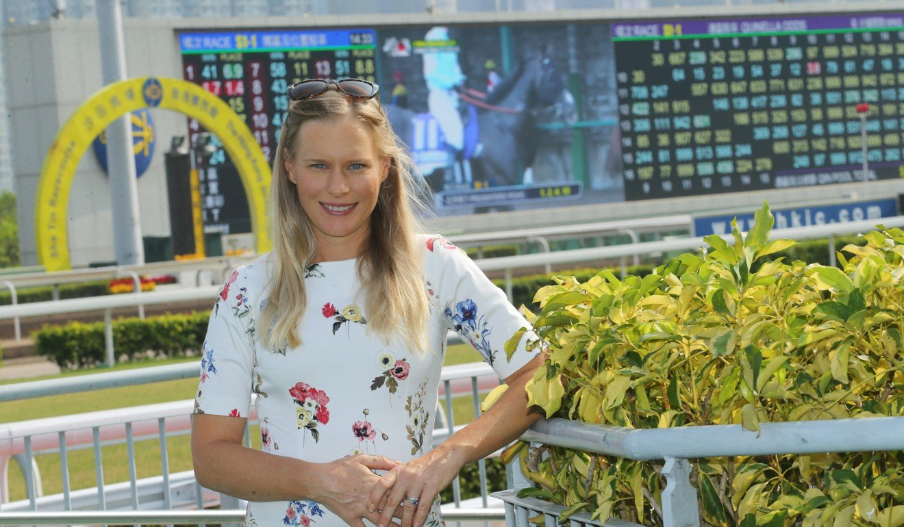 ITR's Amy Taylor at Sha Tin this season. Photo: Kenneth Chan