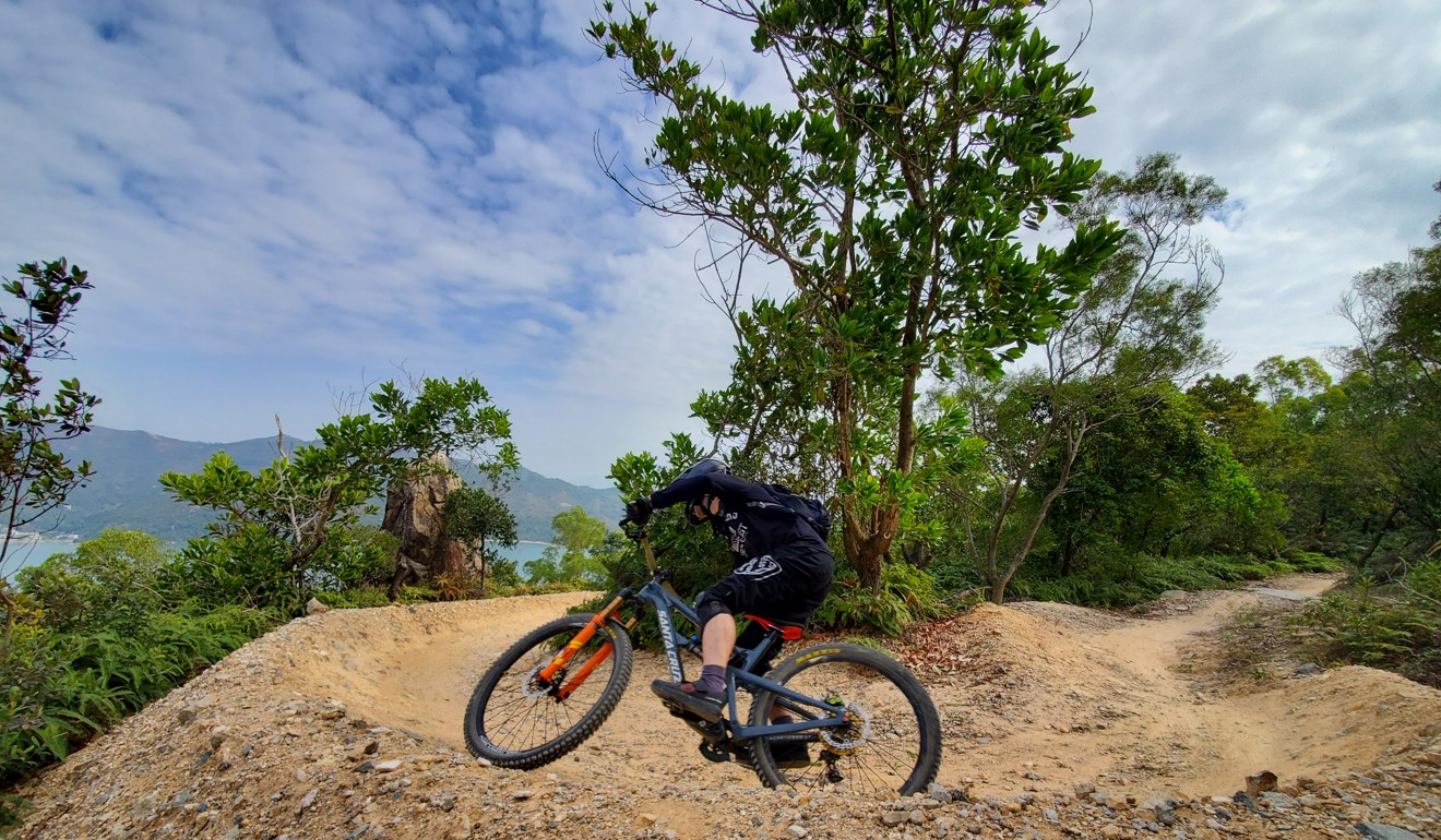 The Chi Ma Wan loop is great for riders, but the Civil Engineering and Development Department ignored the advice of trail experts, rendering the switchbacks redundant. Photo: Handout