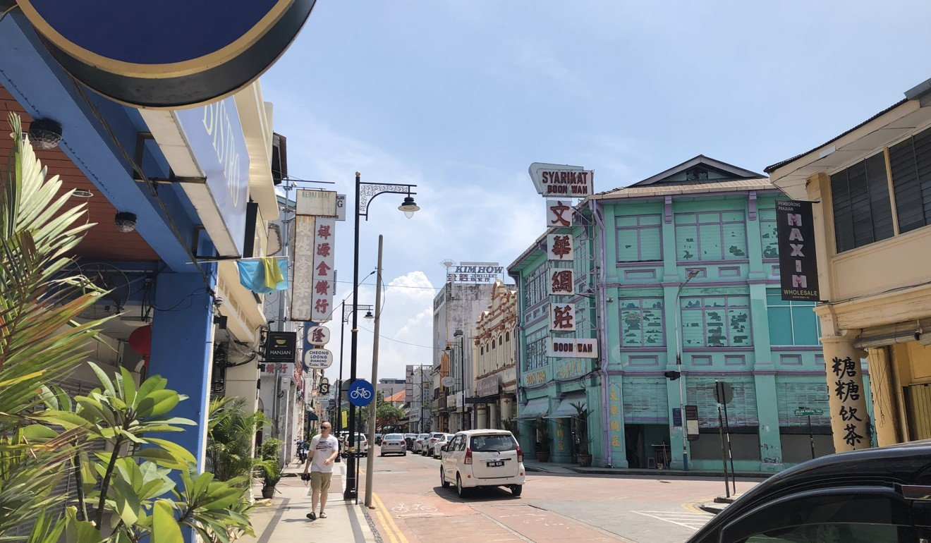 The Unesco World Heritage Site of George Town on a quiet day in March 2019. Photo: Zoe Low