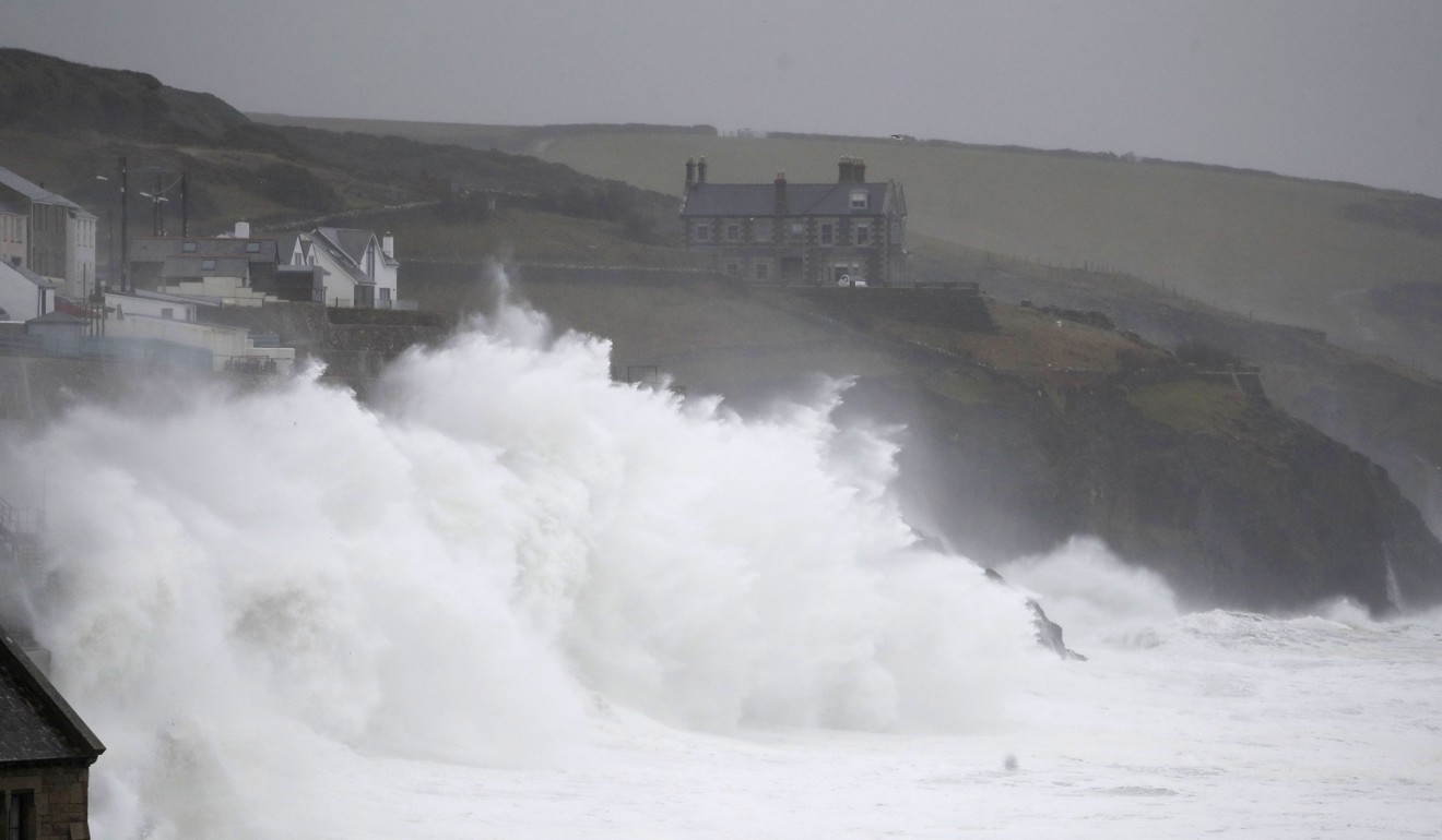 Britain issues 'danger to life' warning as Storm Dennis hits with hurricane-force winds