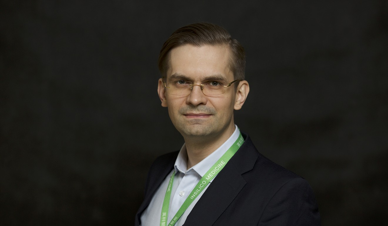 Alex Zhavoronkov, co-founder and CEO of Insilico Medicine, a Hong Kong-based start-up involved in drugs discovery using artificial intelligence. Photo: Handout