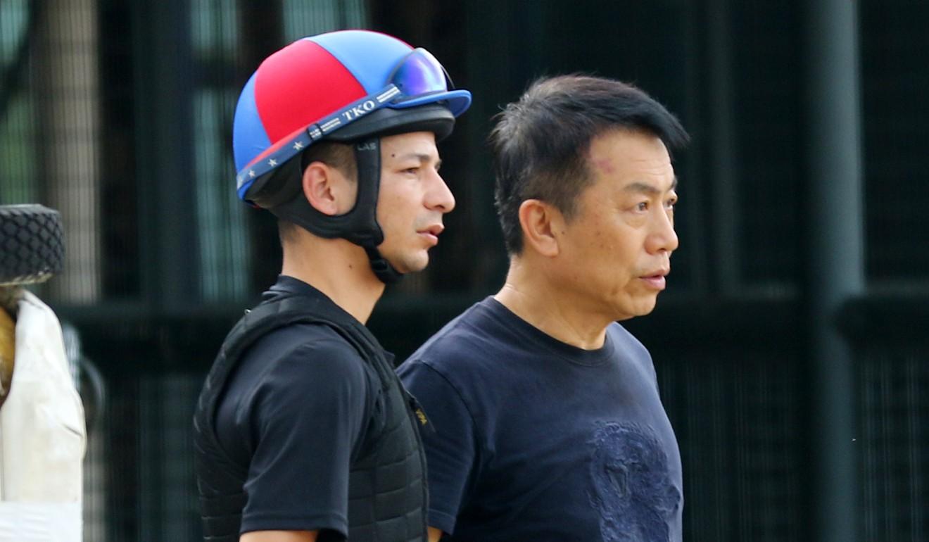 Vagner Borges (left) returns to Hong Kong next month.