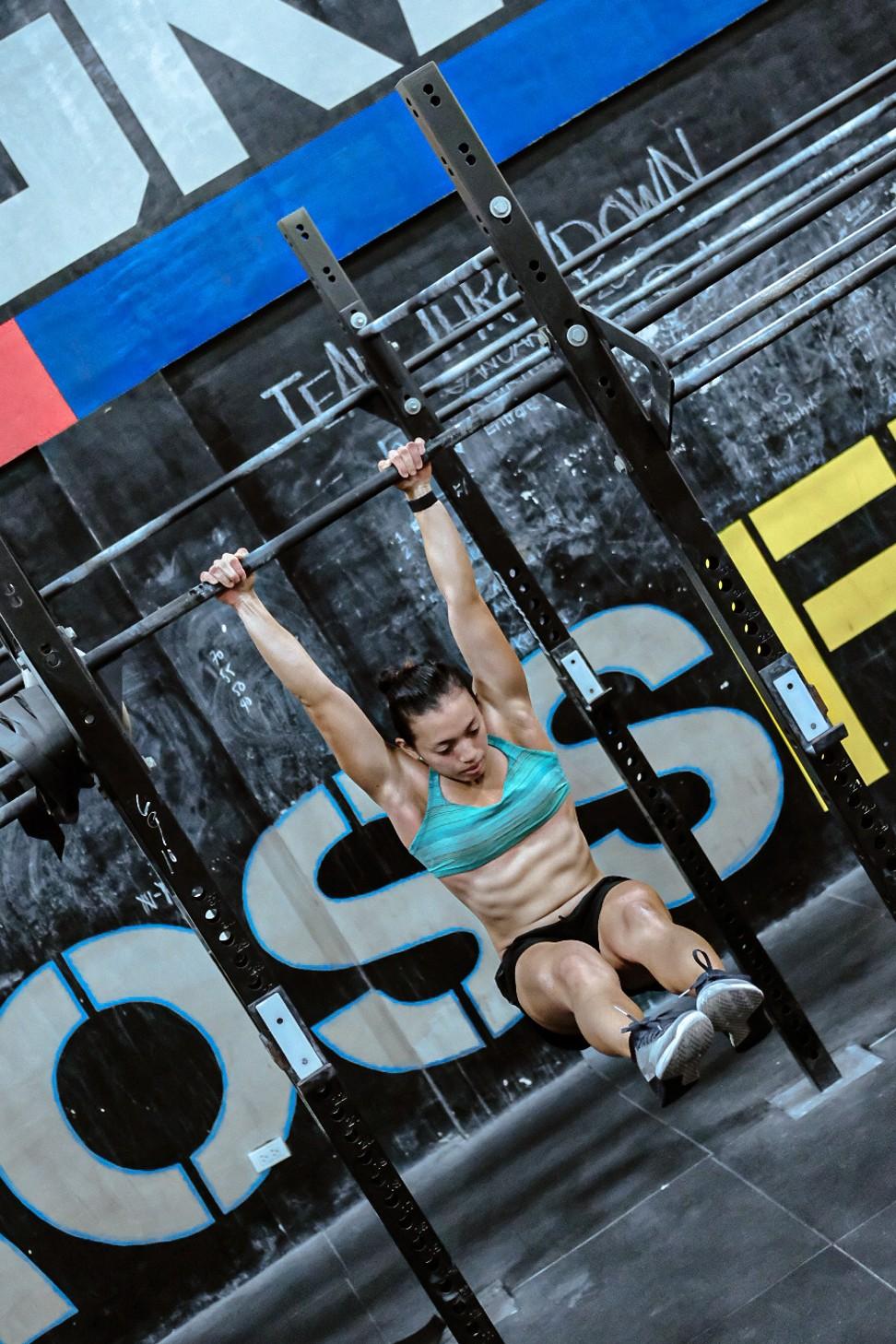 Liwanag said she is a tough coach when teaching CrossFit. Photo: Handout