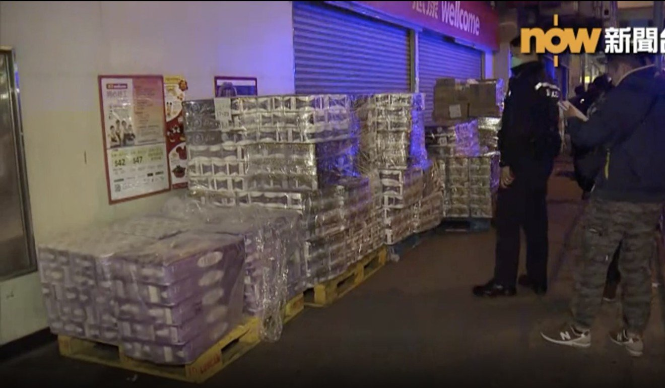 Coronavirus: Hong Kong police on a roll as third suspect in toilet paper heist flushed out