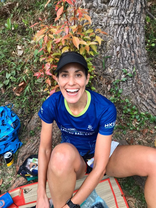 Nia Cooper will finish her Grand Slam as she started it – running an unofficial trail race. Photo: Handout