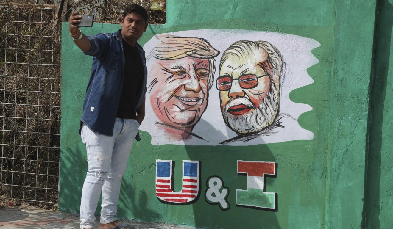 As Namaste Trump meets Howdy Modi in India, common threat China looms large