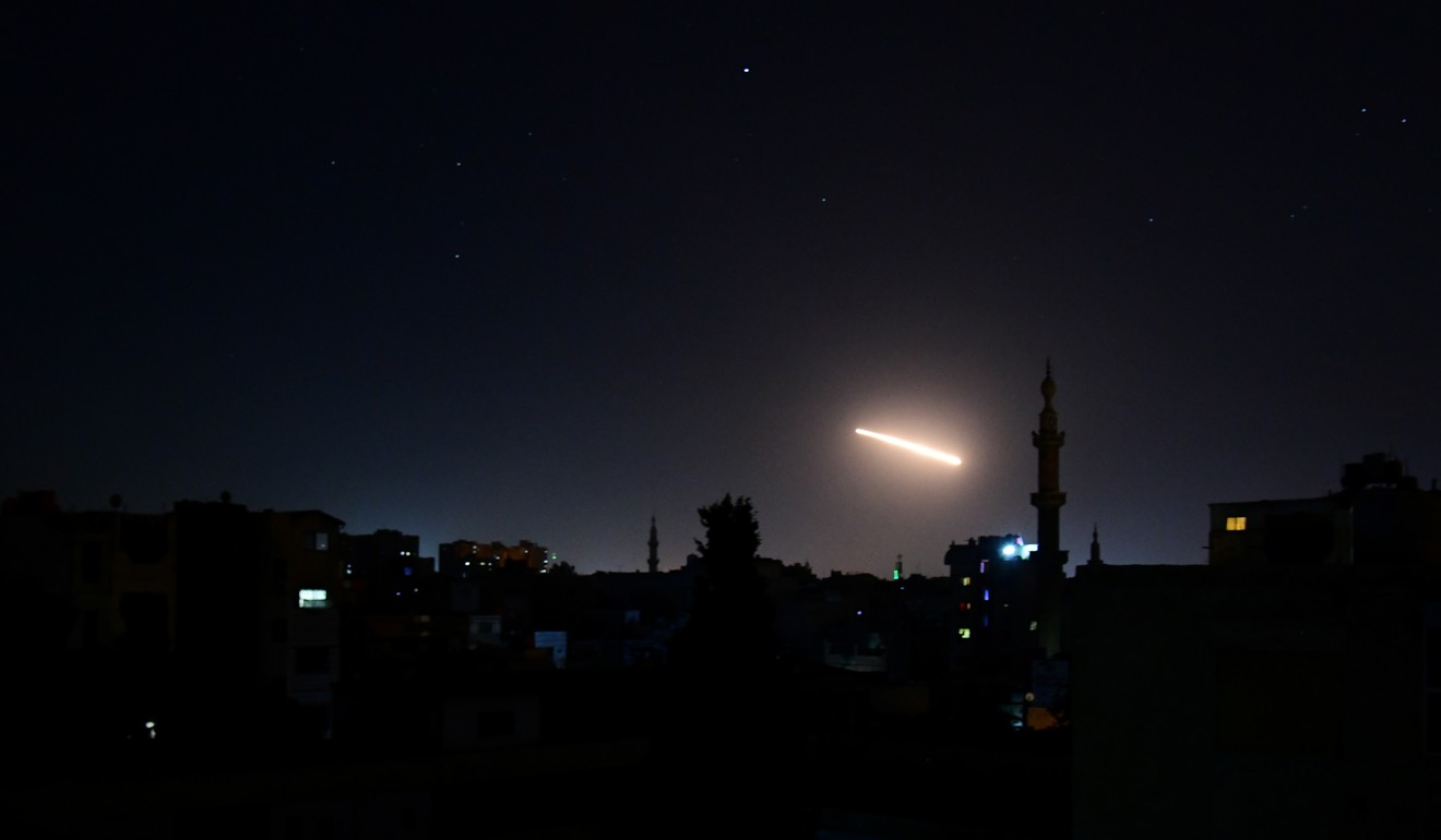 Syrian capital rocked by explosions as Israeli air strikes hit multiple targets