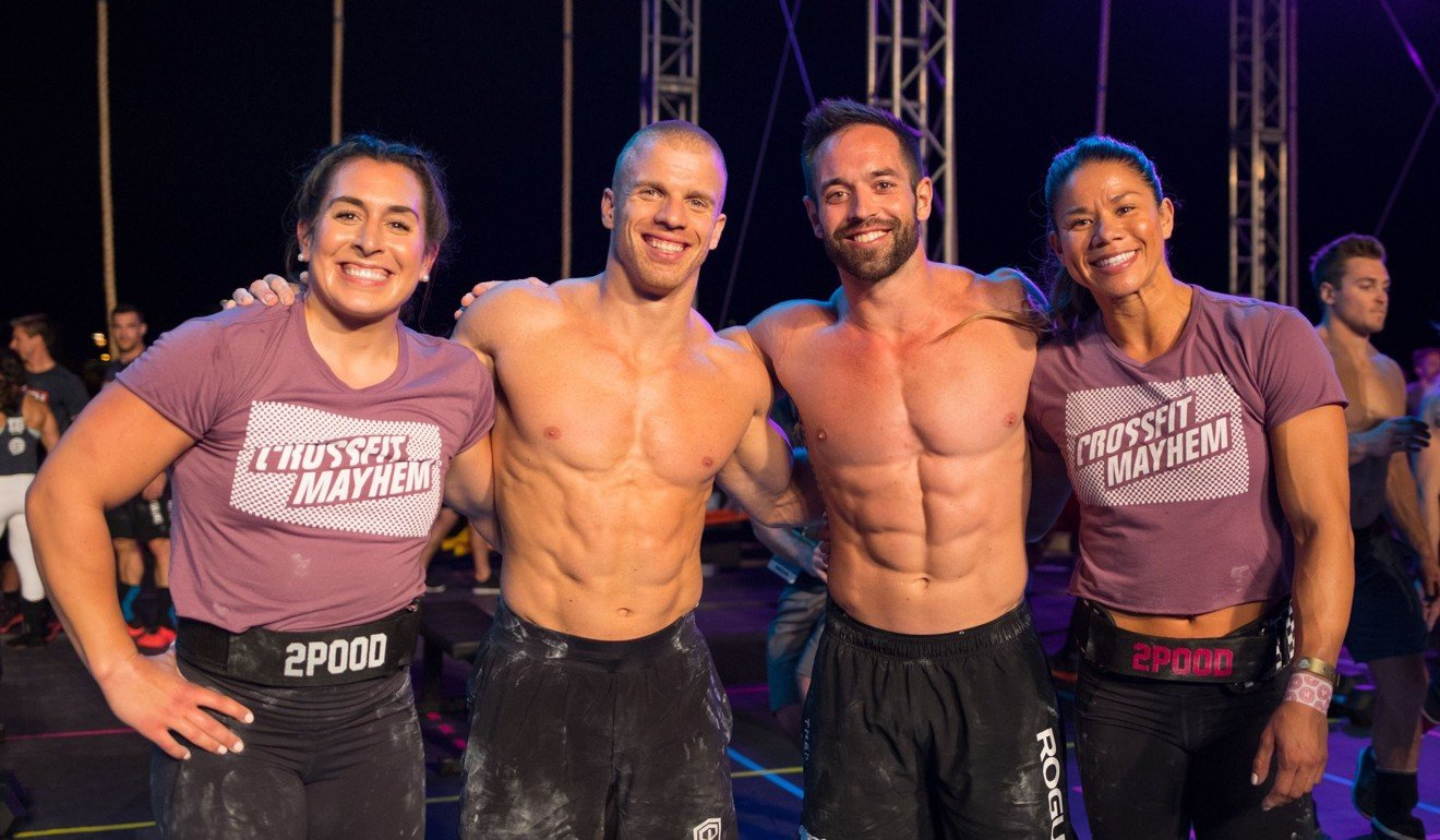 Team CrossFit Mayhem Freedom took the team competition in convincing fashion. Photo: Wodapalooza