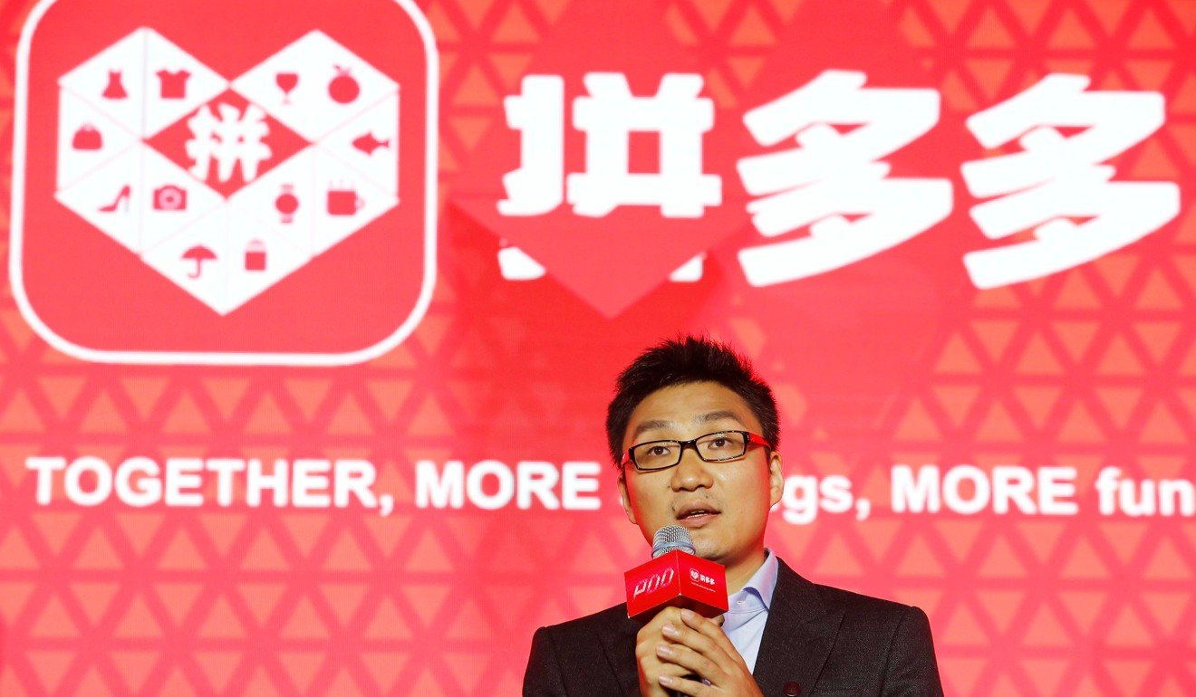 Colin Huang, founder and CEO of the online group discounter Pinduoduo, is the richest person in Shanghai. according to Hurun Report. Photo: Reuters