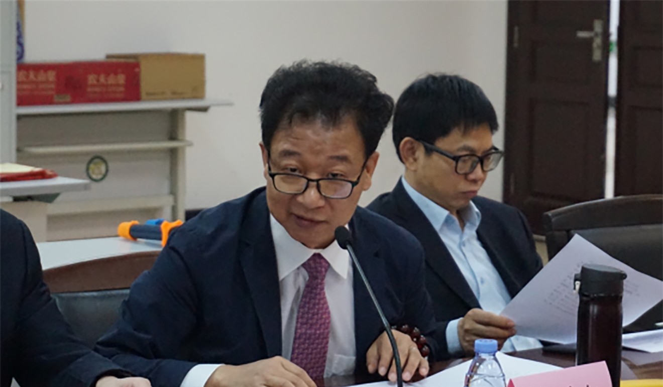 Qin Qianhong is among those who have had their social media accounts suspended. Photo: Wuhan University School of Law