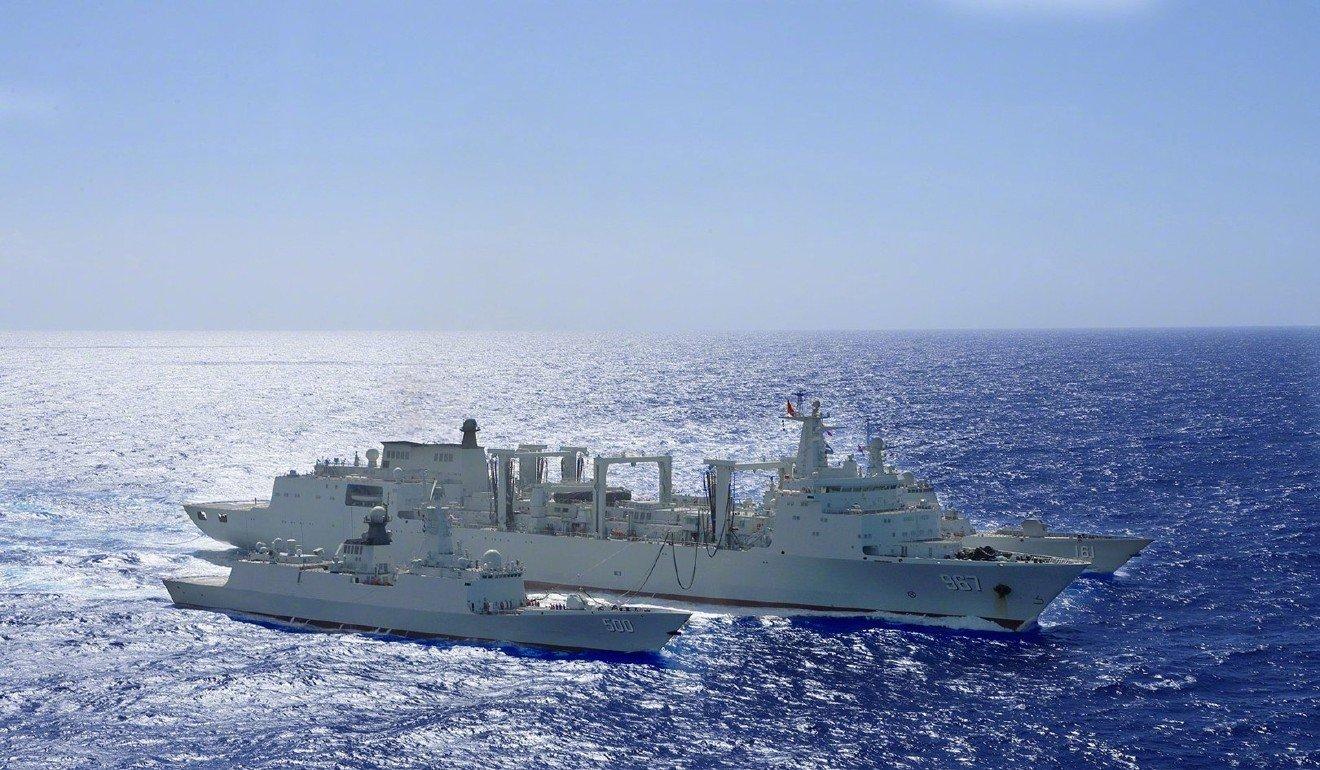 US Navy says Chinese warship pointed laser at patrol aircraft near Guam