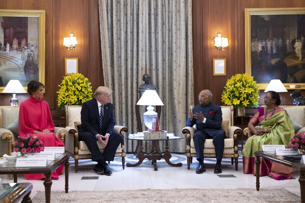 Melania Trump in India – what political statements did the First Lady's wardrobe make? (and which brands were in her suitcase?)