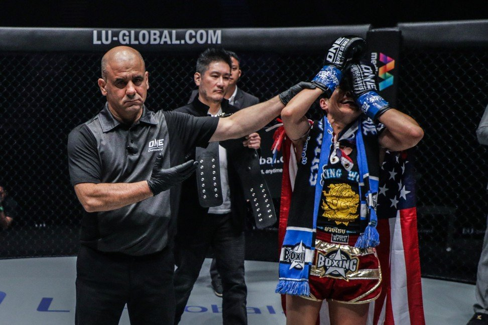 One Championship: Stamp Fairtex says sorry to fans after shock loss to Janet Todd in Singapore