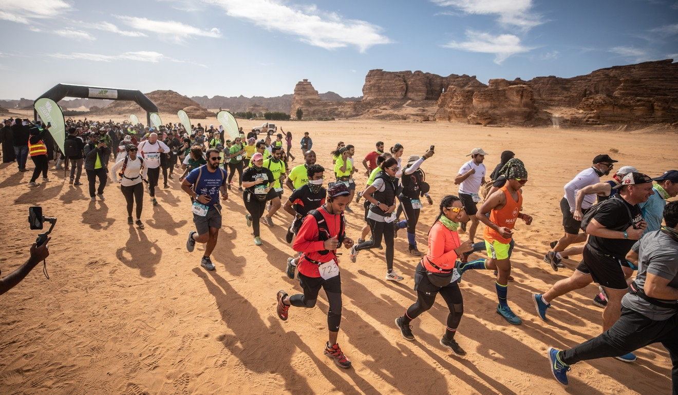 EcoTrail Al Ula is the first trail race in Saudi Arabia, but it will not be the last. Photo: Alexis Berg