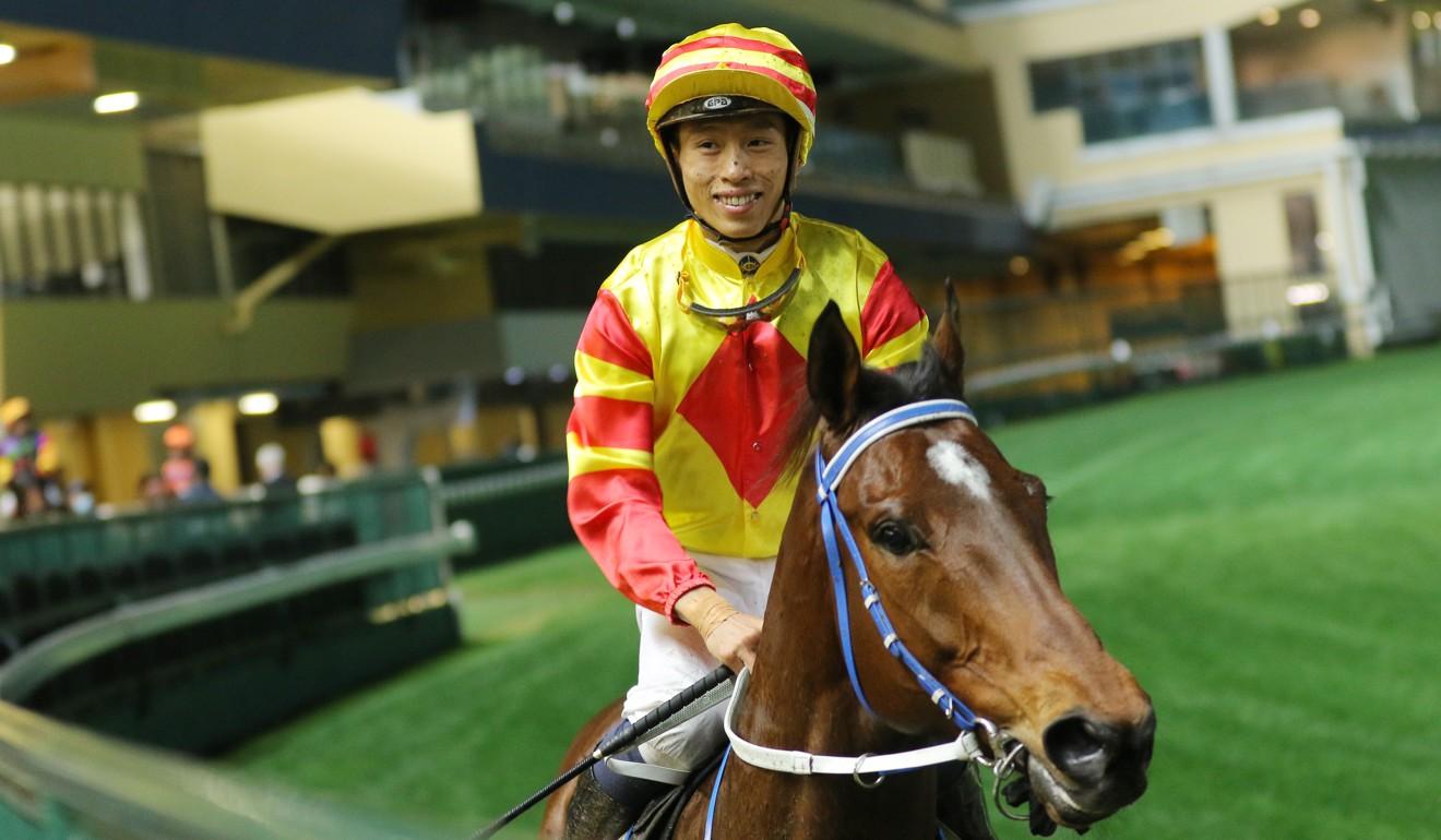 Vincent Ho returns on Shamport after winning at Happy Valley.