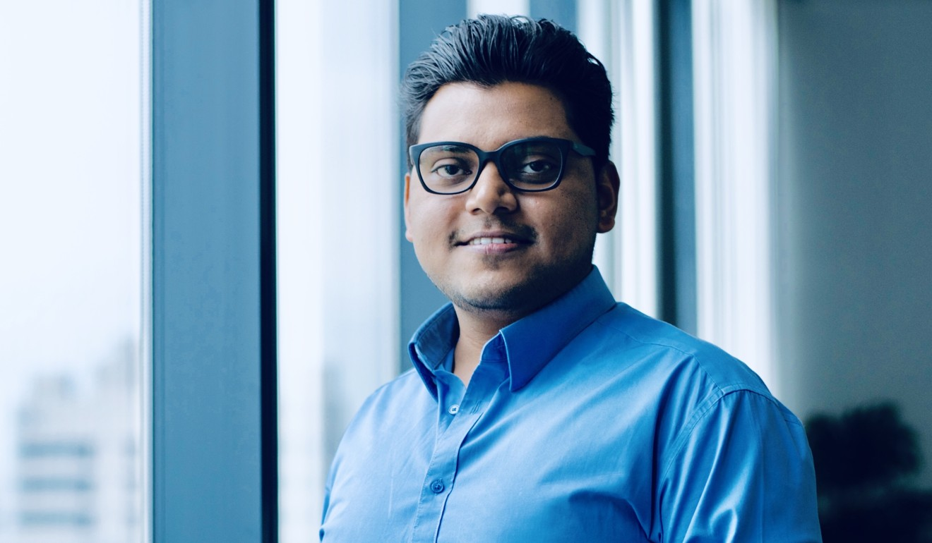 Kuldeep Rajput, chief executive of Boston-based health technology firm Biofoumis. Photo: Handout