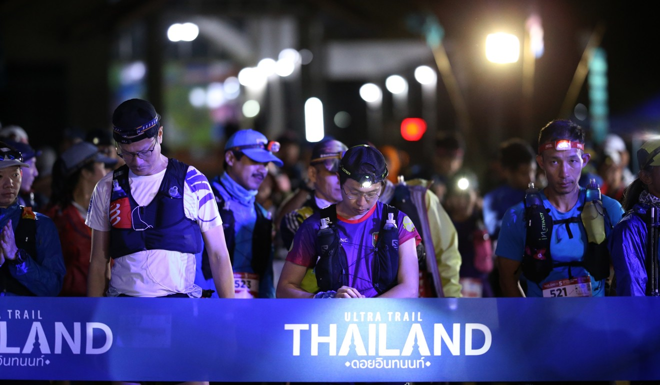 Runners line up for Ultra Trail Thailand, which will now become a UTMB branded race. Photo: Thailand by UTMB