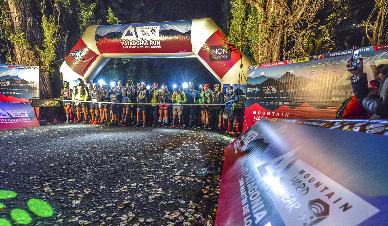 Competitors at the start of Patagonia Run – one of South America's largest trail running events and now part of the Spartan World Trail Championship. Photo: Patagonia Run