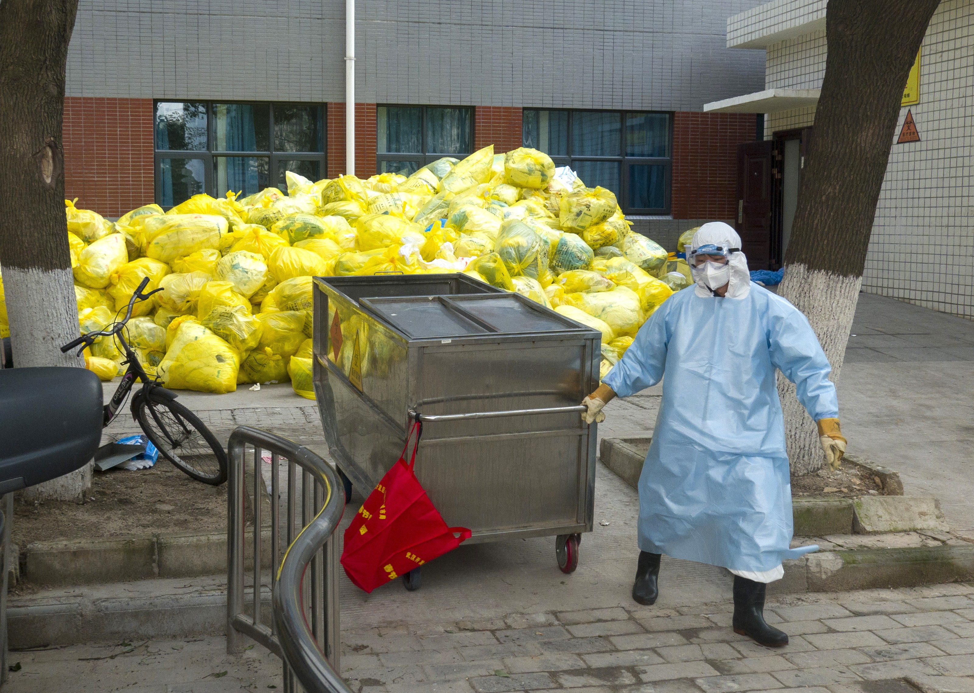 Coronavirus leaves China with mountains of medical waste   South China  Morning Post