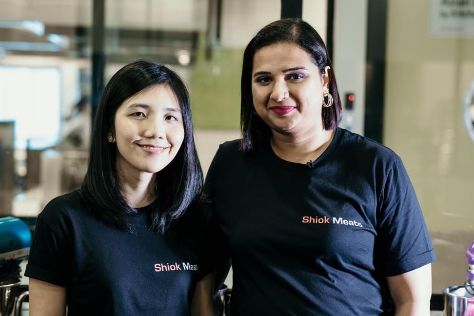 Shiok Meats' founders Ka Yi Ling (left) and Sandhya Sriram say their company plans to expand to Hong Kong, India and Australia. Photo: Shiok Meats