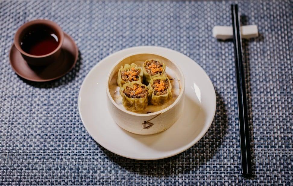 """Shiok Meats' cell-grown """"shrimp"""" dumplings. Photo: Shiok Meats"""