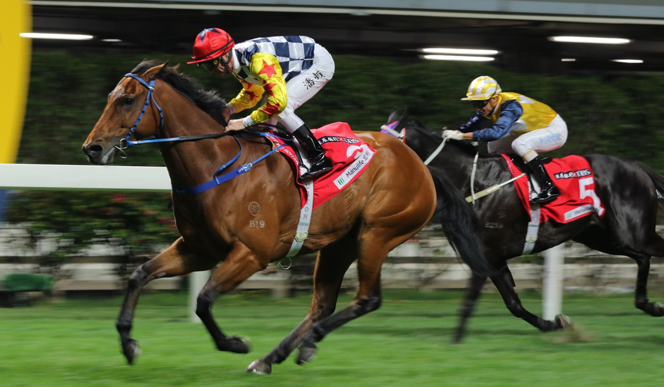 Amazing Star salutes at Happy Valley in January.