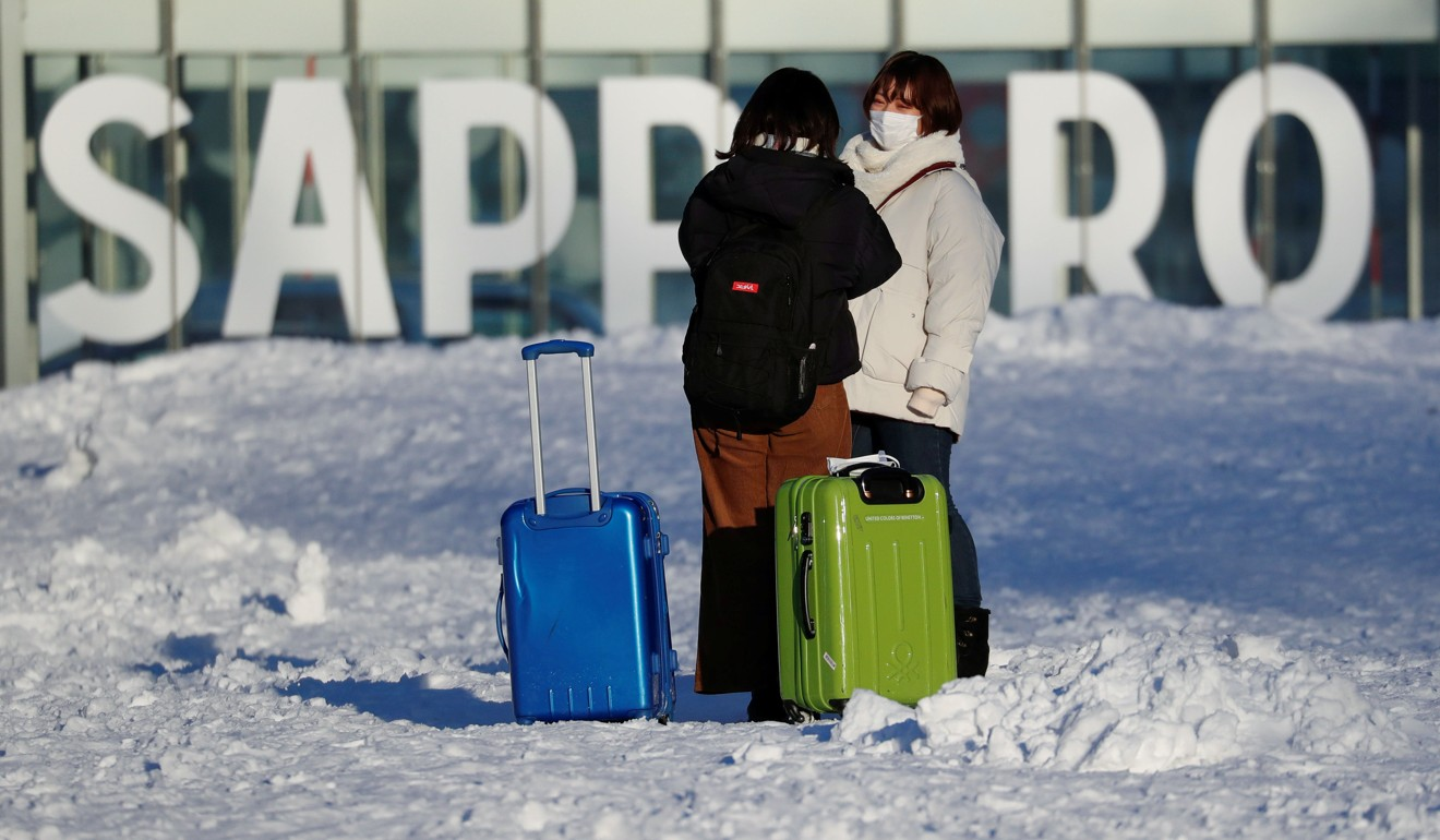 Tourists coming to Japan fell by 58 per cent in February 2020. Photo: Reuters