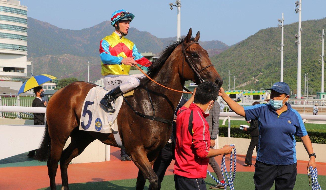 Zac Purton returns after winning on Wellington.