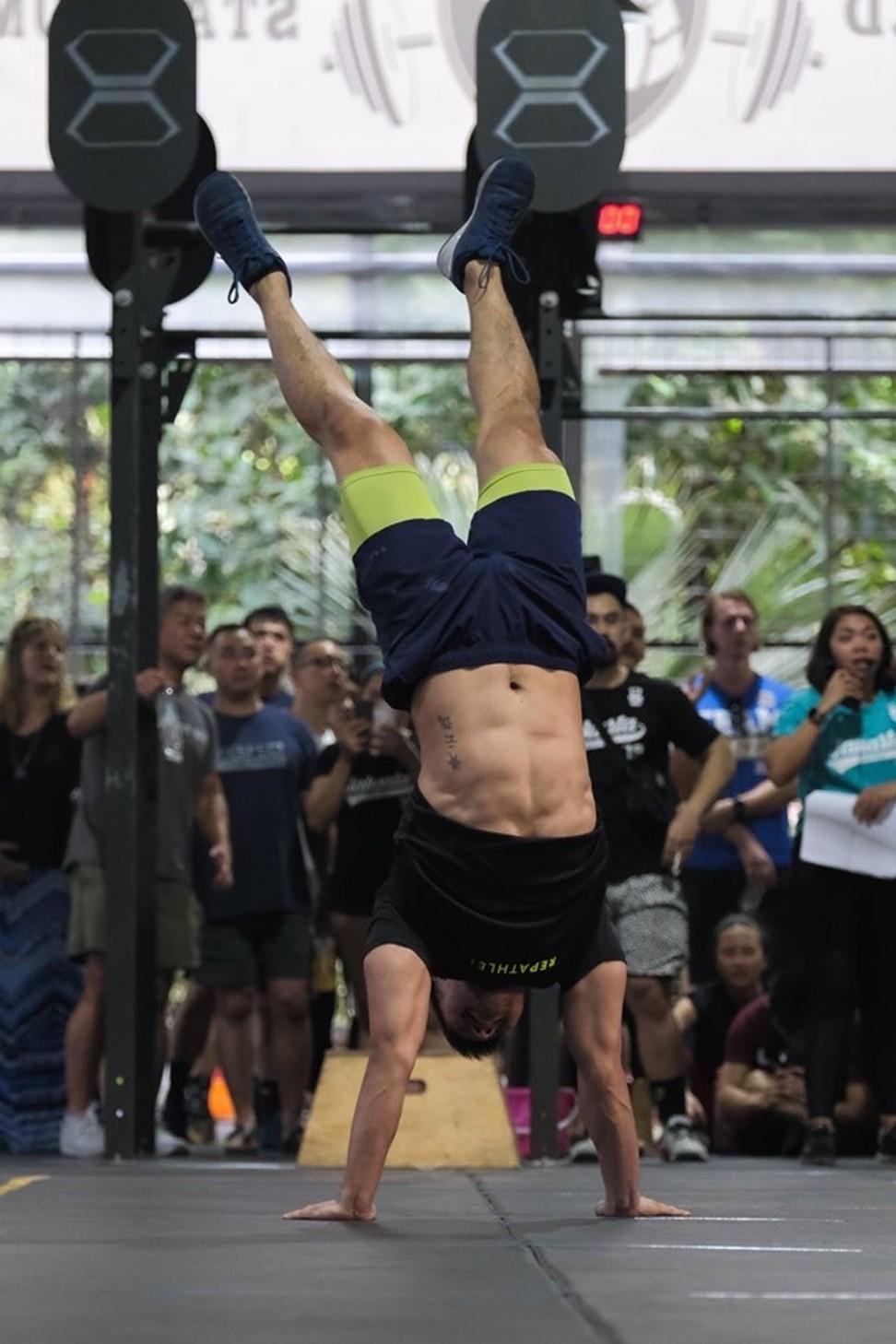 Ooi said balancing CrossFit with a job can require sacrifice at times. Photo: Hairol Mokti