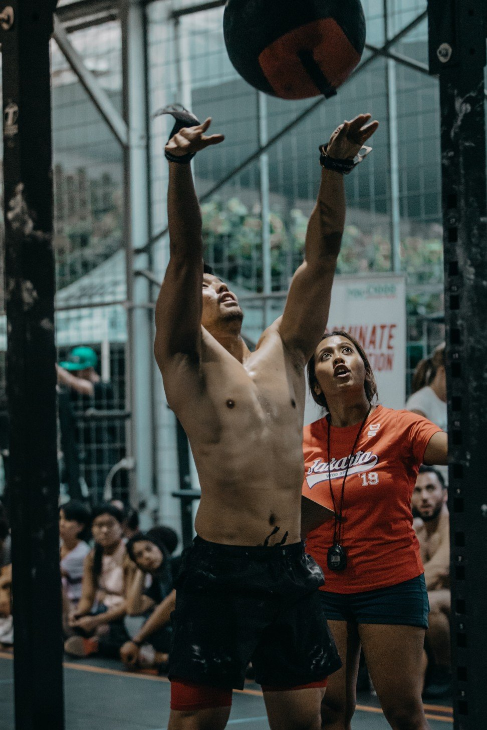 Ooi said if and when the CrossFit Games are held, he will be excited to represent his birth country. Photo: Jakarta WOD Off Day 2
