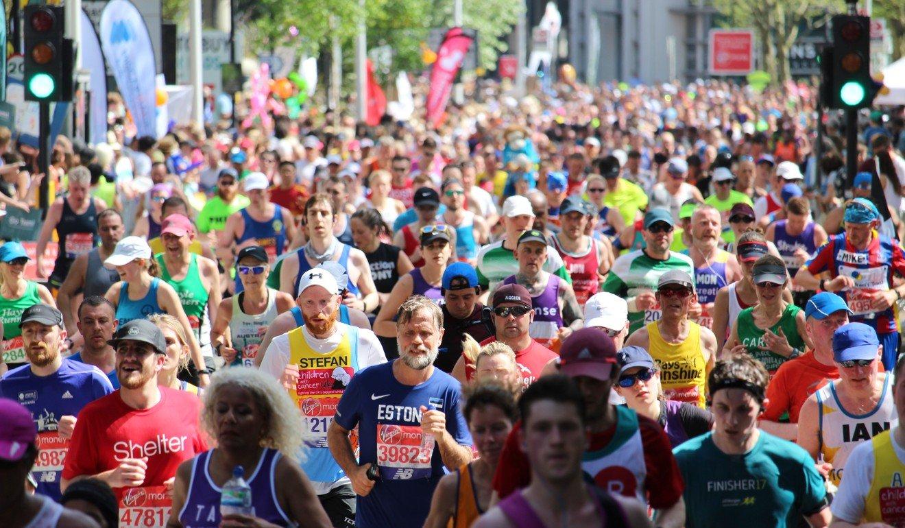 The London Marathon has been postponed to October. Photo: Shutterstock