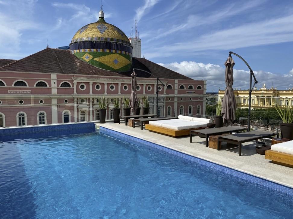 The Juma Opera Hotel, in the remote Brazilian city of Manaus.