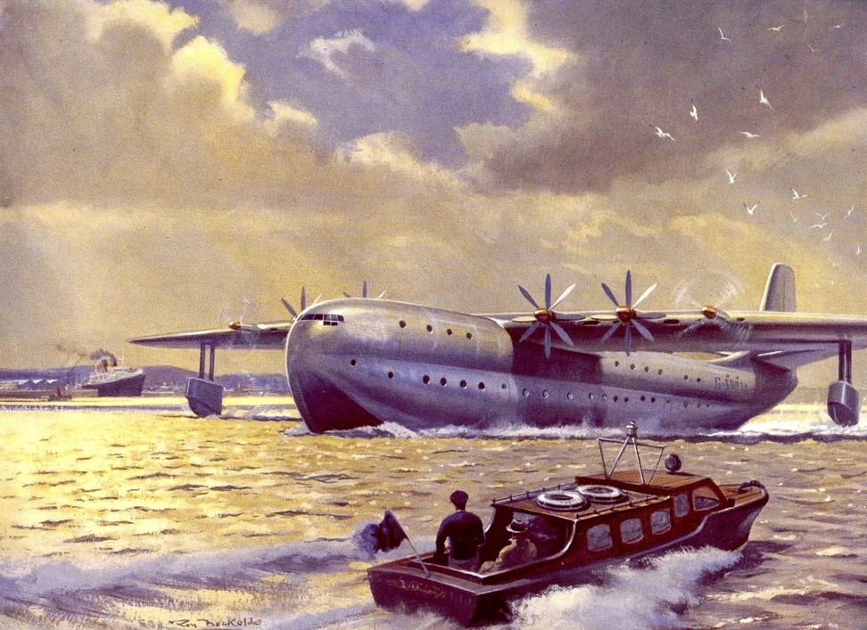 The Princess, a turboprop-powered flying boat from Saunders-Roe.
