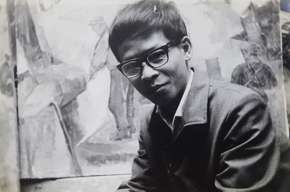 Anh in Hanoi in 1972. Image: Witness Collection / Bui Quang Anh