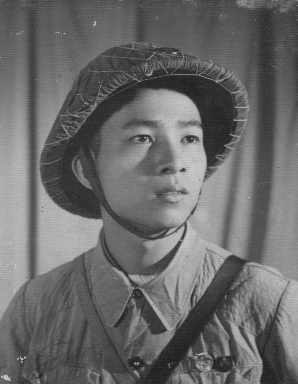 Military portrait of Tam in Hai Phong in 1959. Image: Witness Collection / Pham Thanh Tam