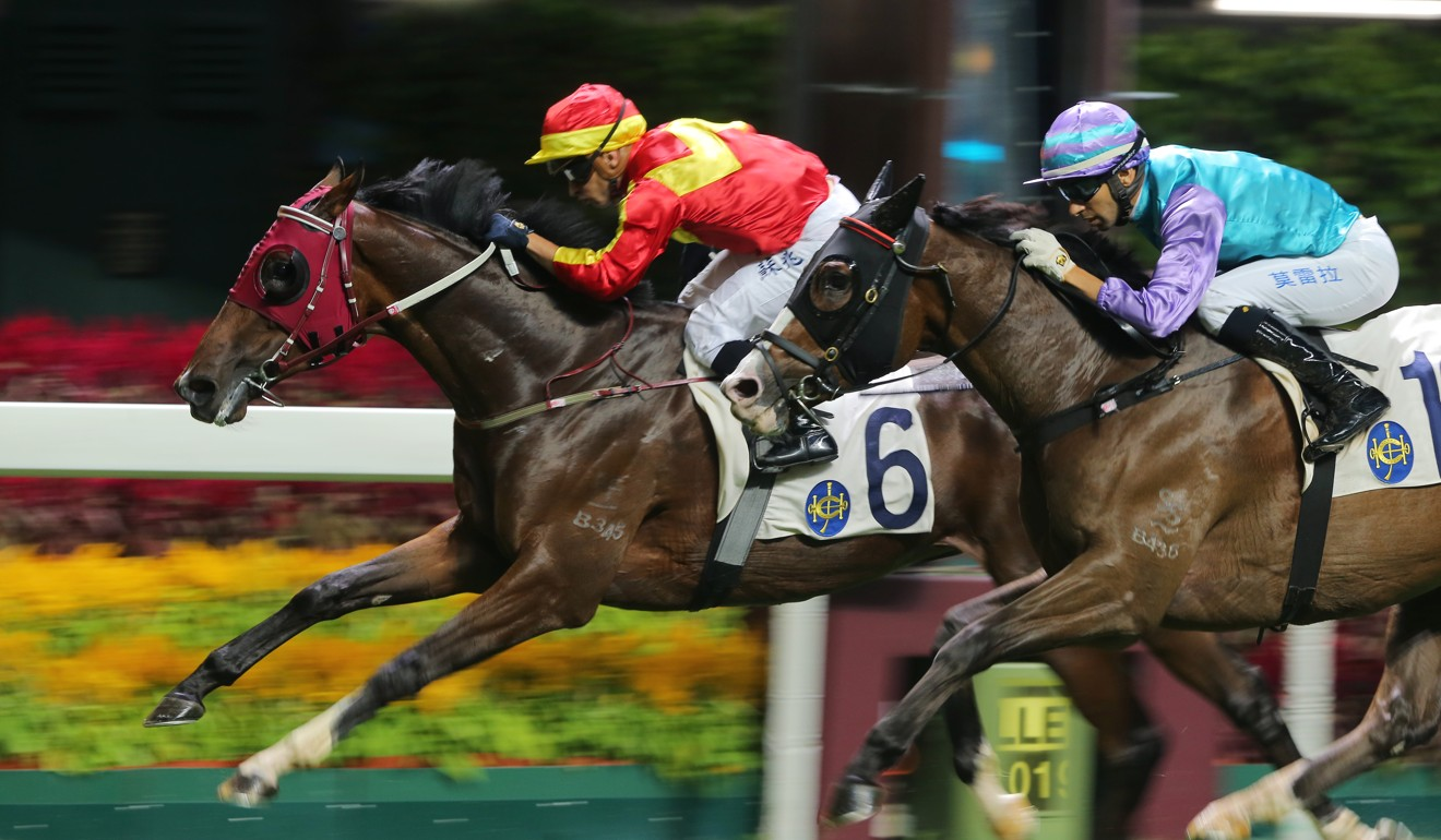Above salutes at Happy Valley in November.
