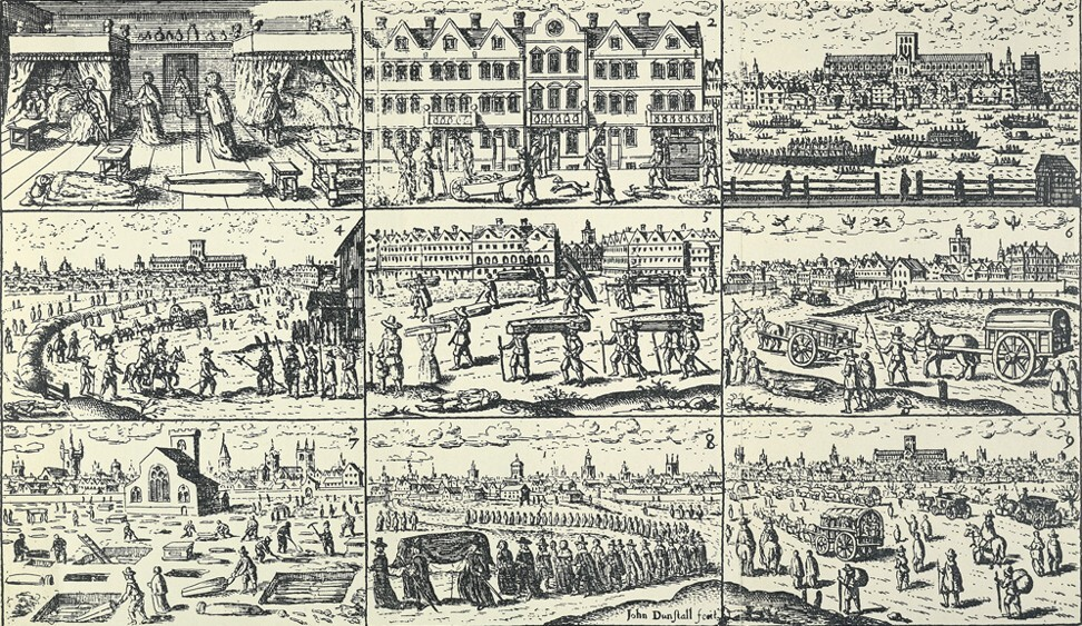 Scenes in London during the plague of 1665. Photo: nationalarchives.gov.uk
