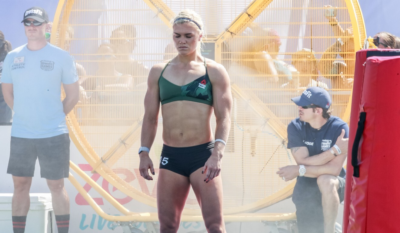 Katrin Davidsdottir was one of the athletes who made it all the way through CrossFit's dramatic cuts. Photo: Duke Loren