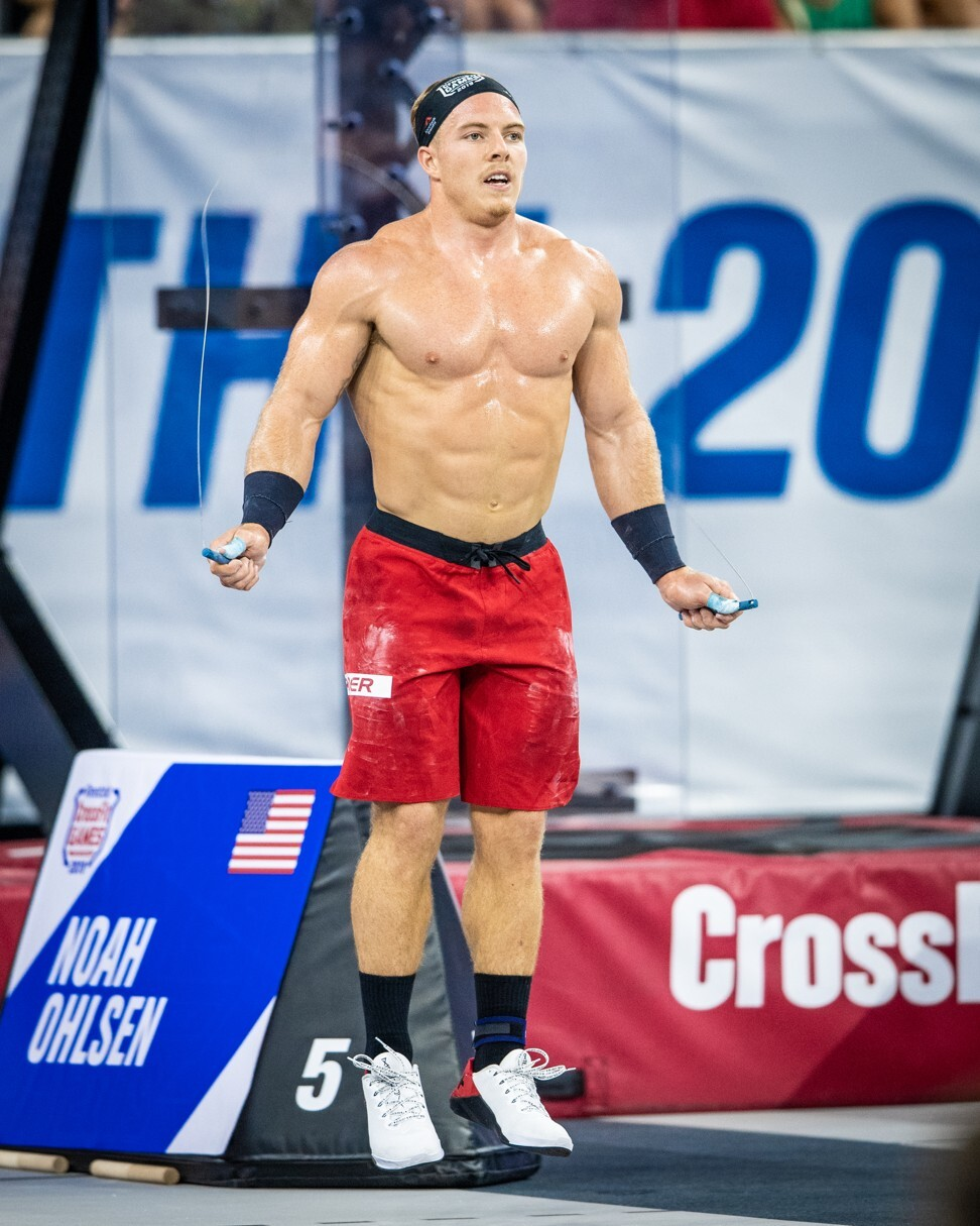 The 2019 CrossFit Games was a coming-out party for Noah Ohlsen. Photo: Michael Valentin