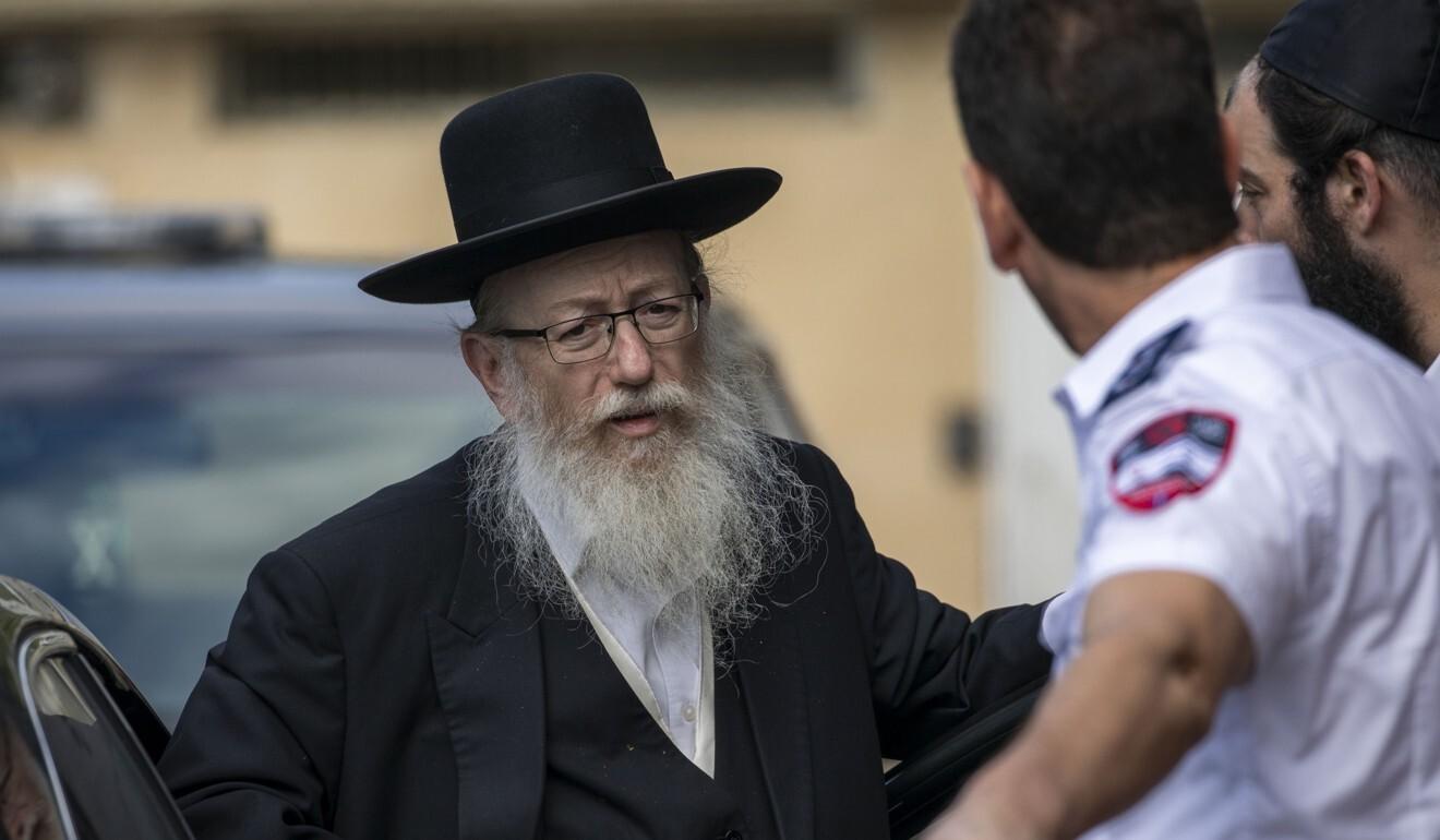 Ministro Salud Israel