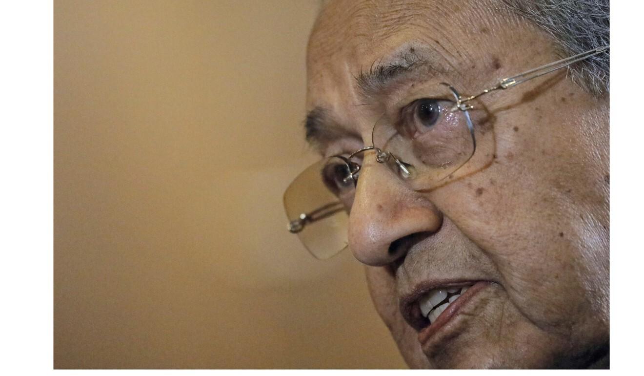 El ex primer ministro de Malasia, Mahathir Mohamad.  Foto: Bloomberg