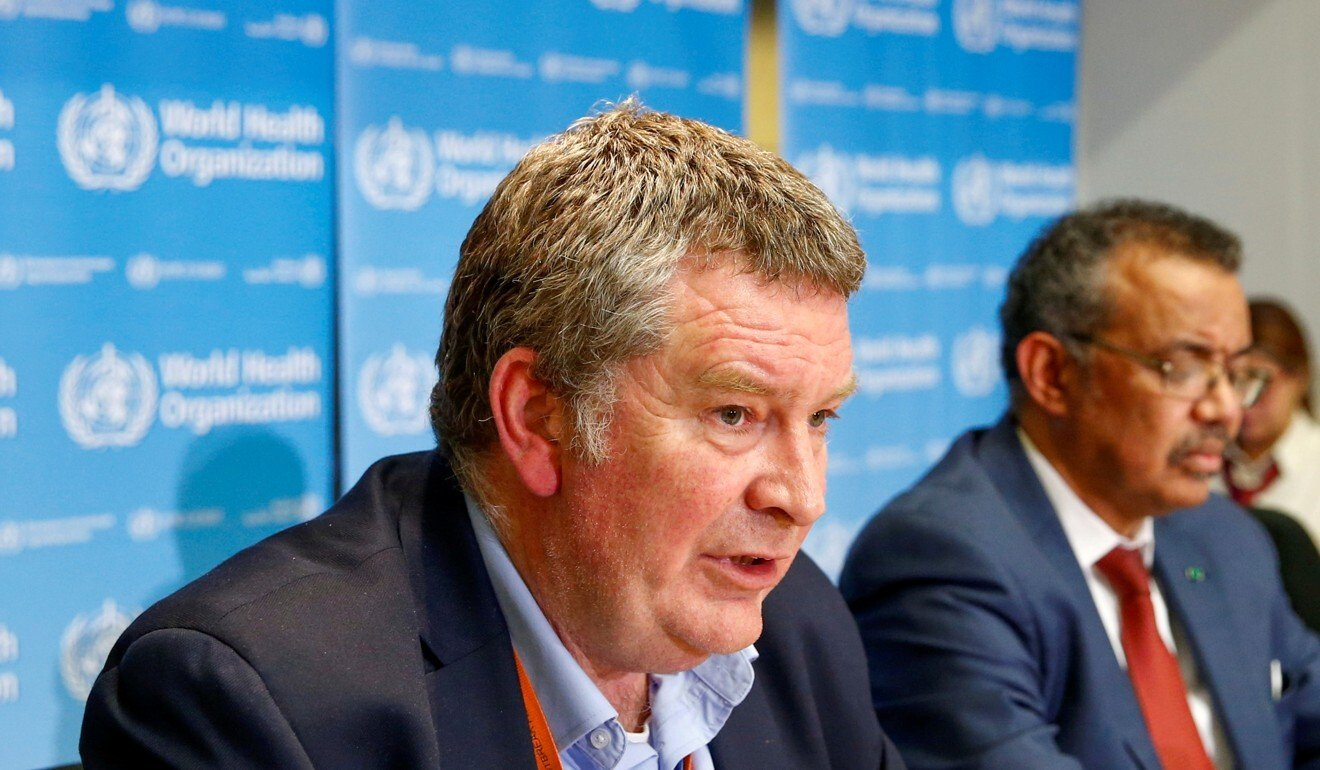 Dr Mike Ryan, executive director of WHO's health emergencies programme. Photo: Reuters