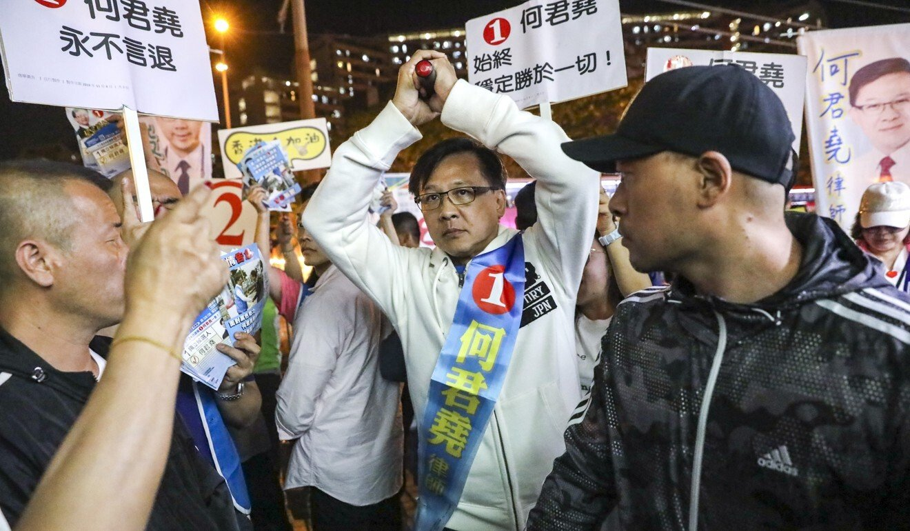 Hong Kong councillor warned for refusing to help Yuen Long residents who support national security law
