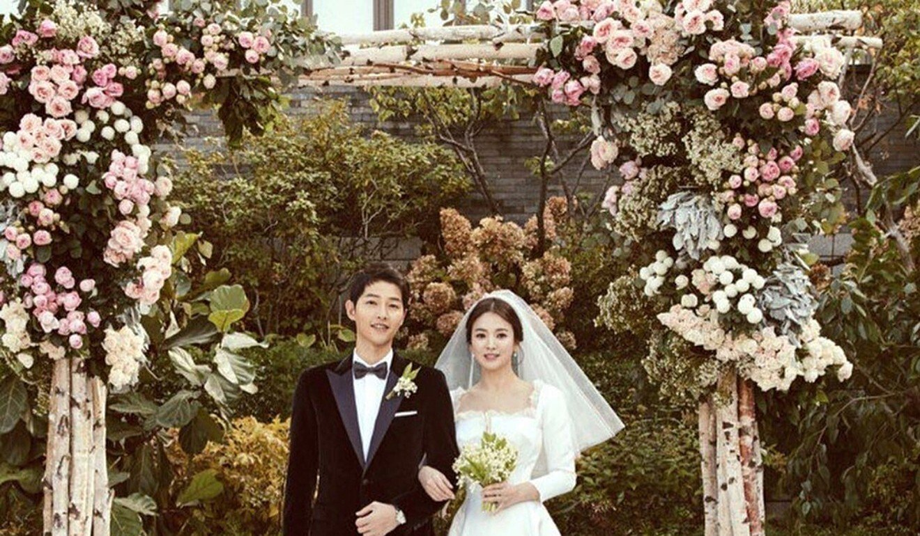 South Korean actor Song Joong-ki (left) and actress Song Hye-kyo, known as the Song-Song couple because of their shared surname, filed for divorced after less than two years of marriage. Photo: Instagram