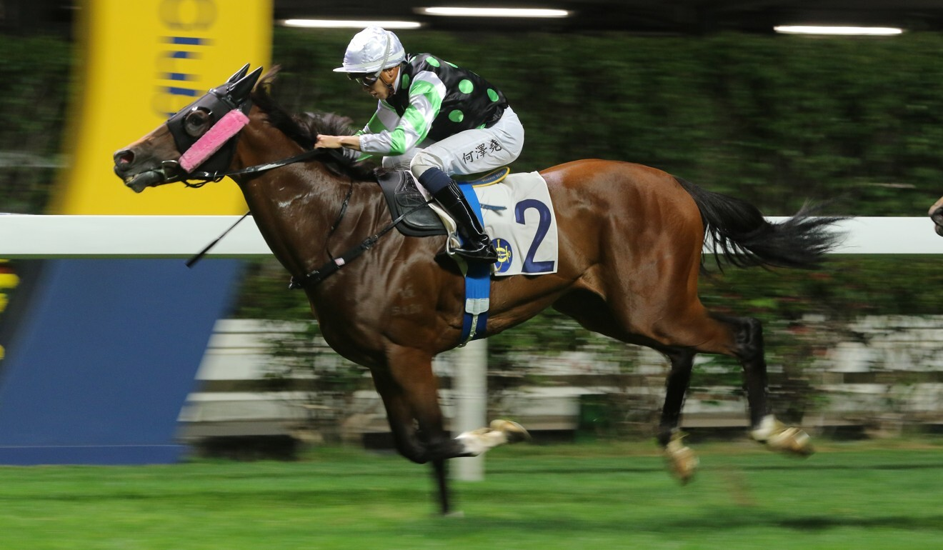This Is Class salutes under Vincent Ho at Happy Valley last month.