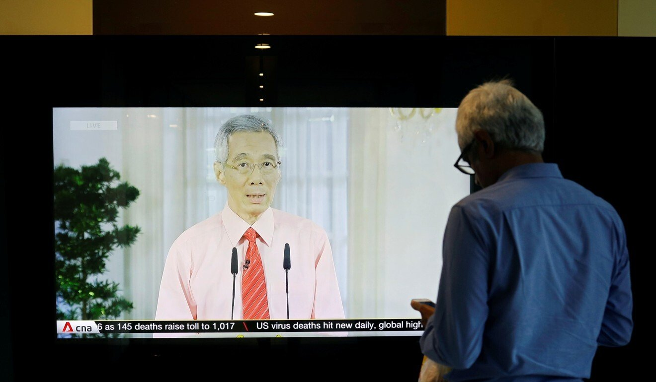 Singapore's Prime Minister Lee Hsien Loong has announced that country's ministers will forgo three months' salary. Photo: Reuters