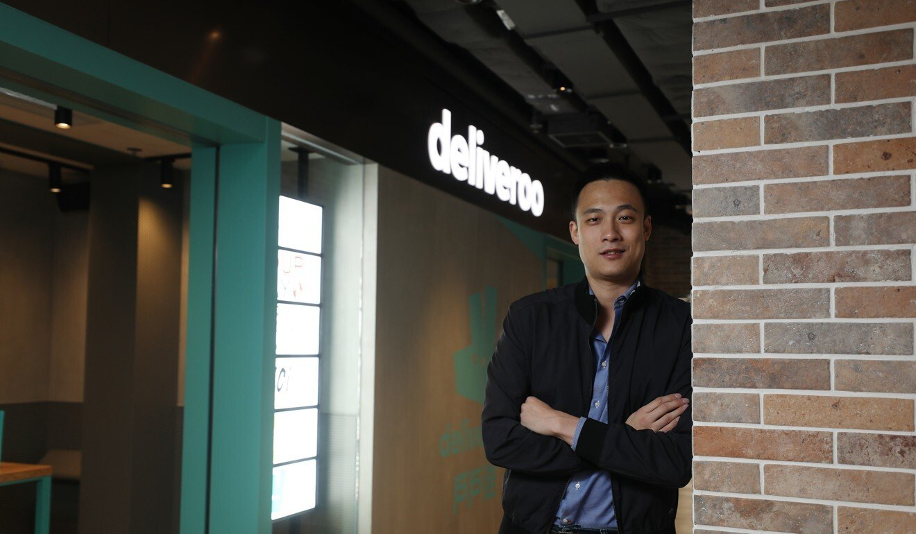Brian Lo, general manager of Deliveroo. Photo: Xiaomei Chen