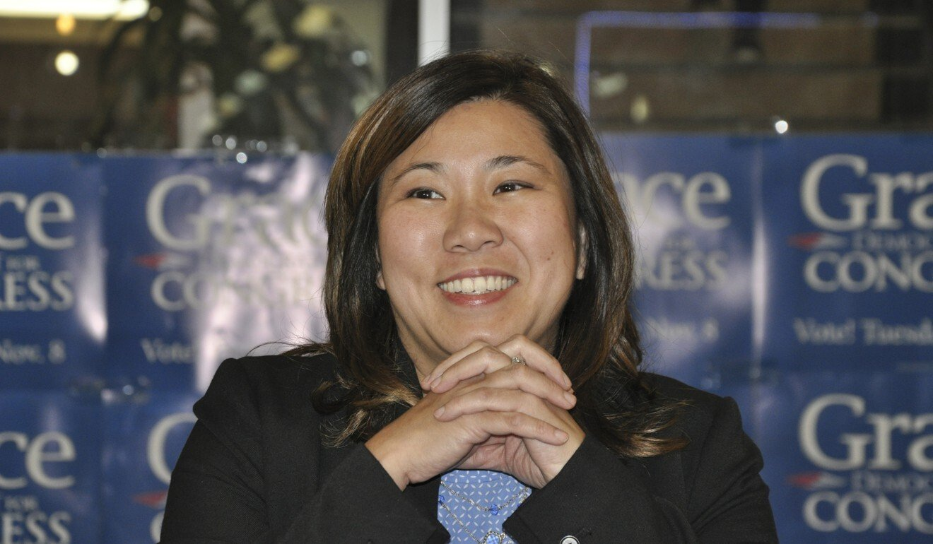 Representative Grace Meng, shown in 2016, has introduced a House resolution condemning all forms of anti-Asian sentiment related to Covid-19. Photo: Liu Zhen