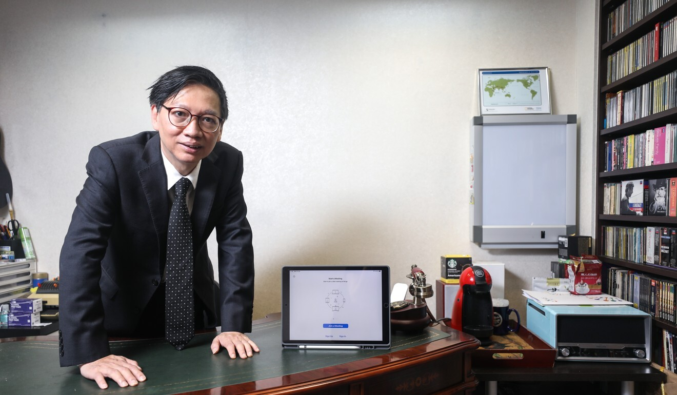 Psychiatrist Dr Ting Sik-chuen, vice-chairman of the Mental Health Foundation. Photo: Xiaomei Chen